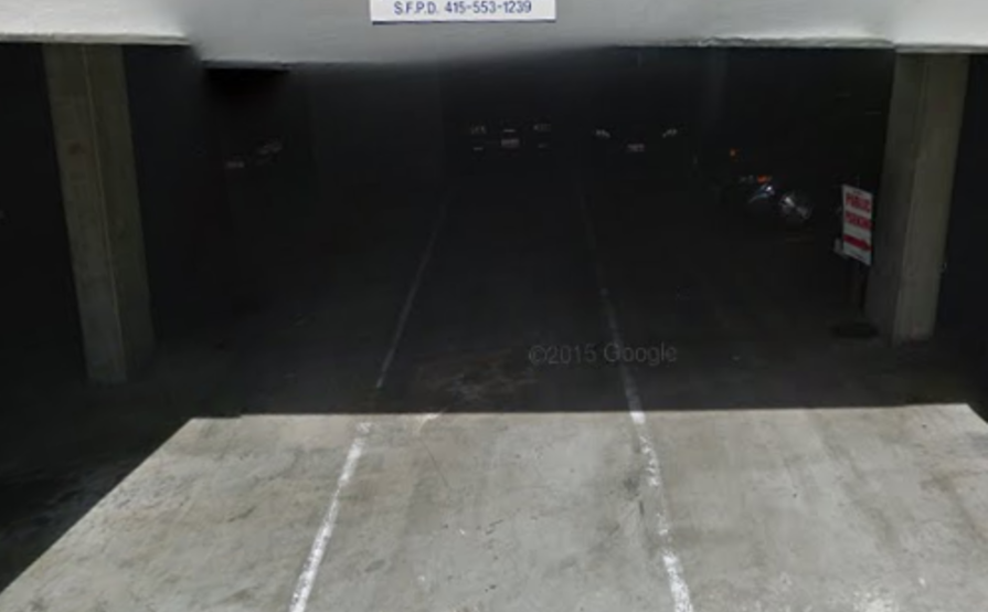 Indoor lot parking on Mission St in San Francisco