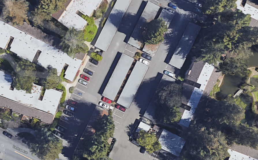 Carport parking on Cypress Point Dr in Mountain View