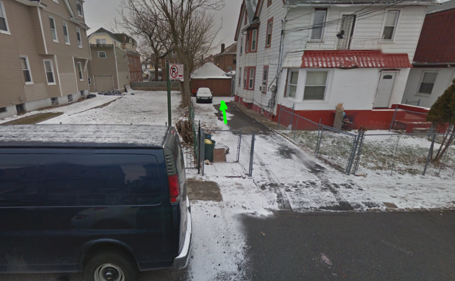 Driveway parking on 27-20 Humphreys St in Flushing