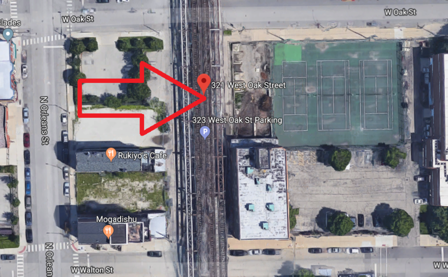Parking Space parking on W Oak St in Chicago