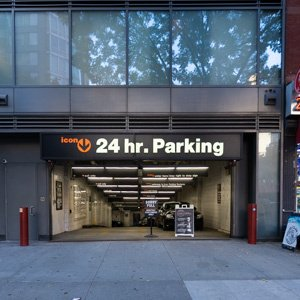 Indoor lot parking on East 34th Street in New York