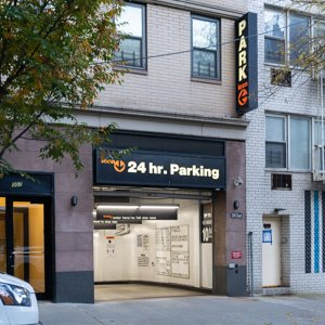 Indoor lot parking on East 55th St in New York