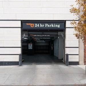 Indoor lot parking on East End Avenue in New York
