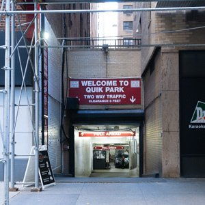 Indoor lot parking on 300-04 East 48th St in New York