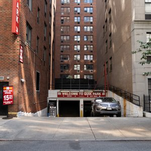 Indoor lot parking on East 79th St in New York