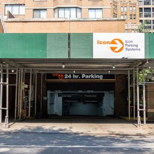 Indoor lot parking on 135-165 East 31st St in New York