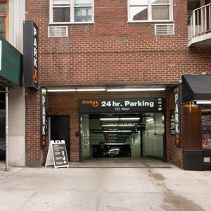 Indoor lot parking on 215-225 7th Ave in New York