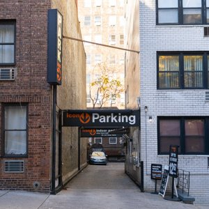 Indoor lot parking on East 38th St in New York