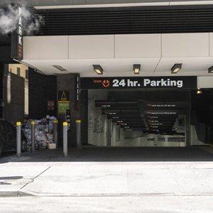 Indoor lot parking on William St in New York